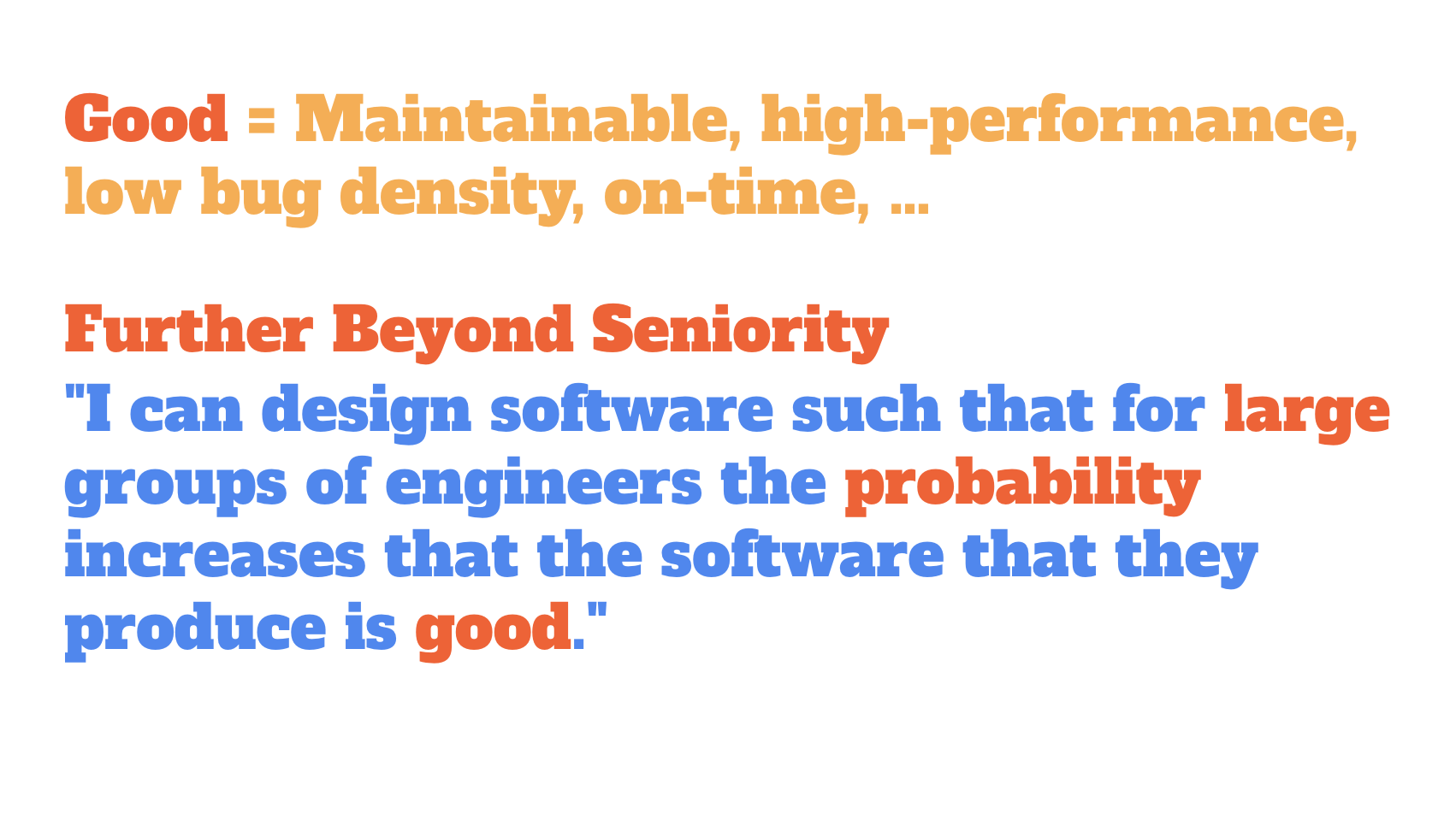 谷歌首席软件工程师:如何设计大型应用程序