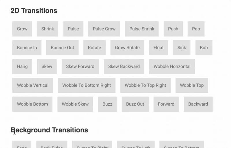 推荐 11 个好用的 JavaScript动画库(建议收藏)